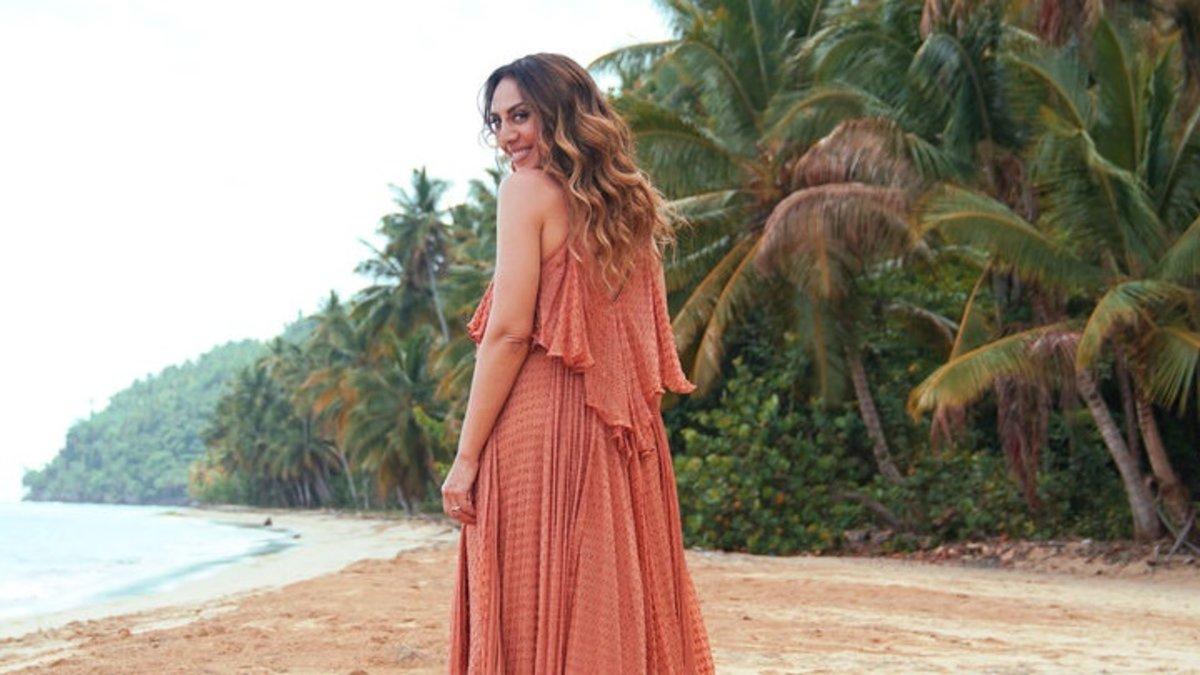 Monica Naranjo presentadora de la isla de las tentaciones