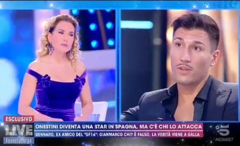 Video: Gianmarco destroza a Adara en su entrevista en Italia