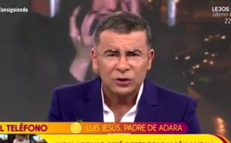El zasca de Jorge Javier al padre de Adara en pleno directo