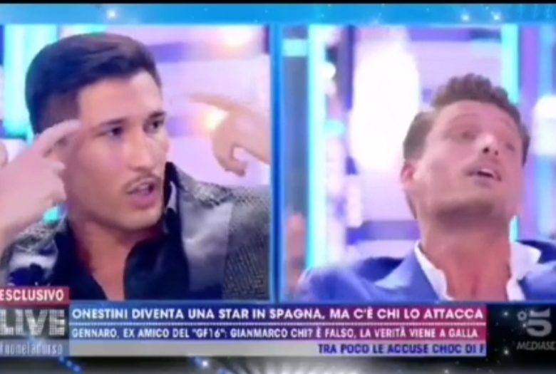 Video: Acorralan a Gianmarco en su segunda entrevista en Italia