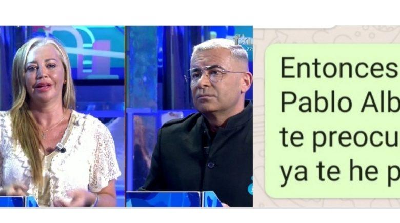 Este es el mensaje que envío Jorge Javier a Belen Esteban tras la bronca y que ha dinamitado su relación