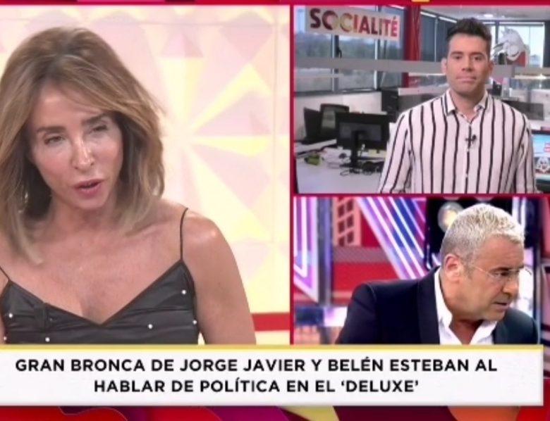 María Patiño se posiciona y destroza a Jorge Javier sin compasion