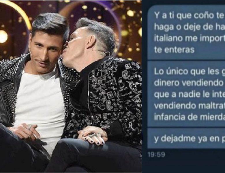 «La infancia de mierda de Gianmarco». Joao ya no le soporta