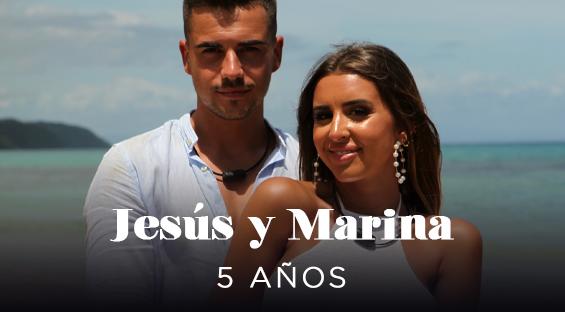 Jesus y Marina ( 25 y 21 años)