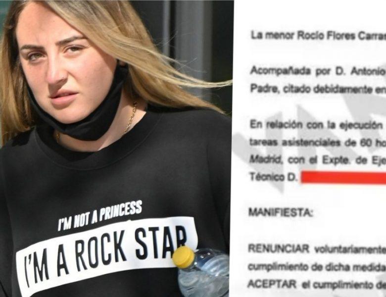 La condena de Rocío Flores por maltratar a su madre
