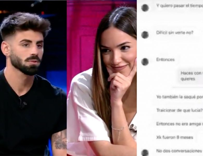 «Me tratas como una mier**» Lucía desenmascara a Isaac publicando su conversación