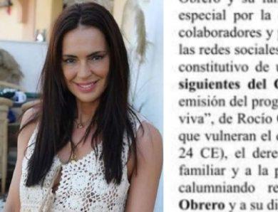 Olga Moreno denuncia a Telecinco
