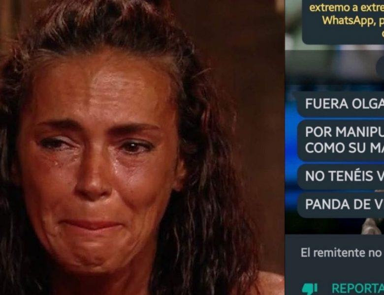 «Ladrona» Consigue el móvil de la hermana de Olga Moreno para insultarla y ella le denuncia