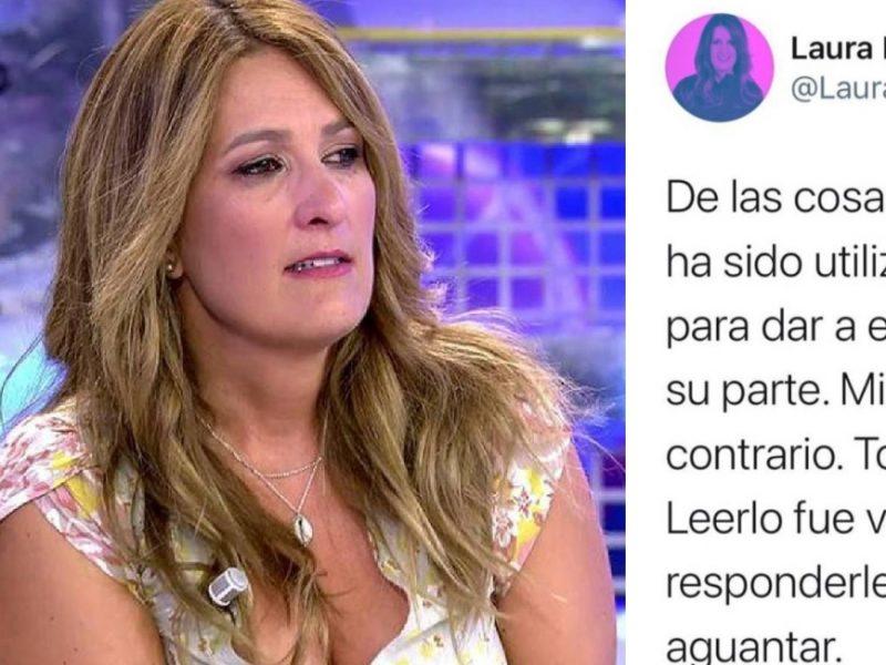 Laura fa acusa de «vomitivo» a Antonio David por aprovechar el fallecimiento de Milá Ximénez