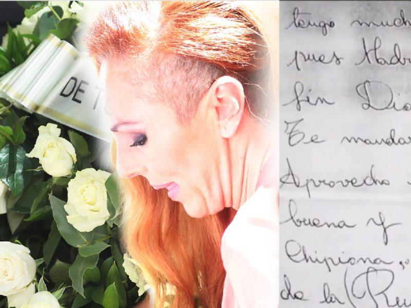 La primera carta de Rocío Jurado que te ayudará a entender muchas cosas