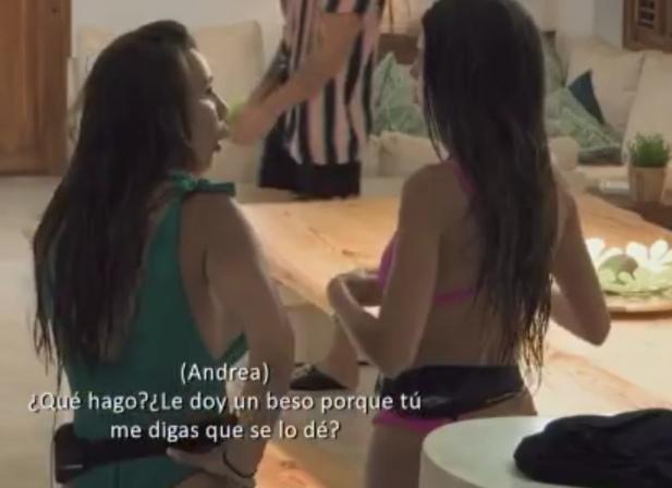 La dura discusion entre Andrea y Fani. Este es el motivo