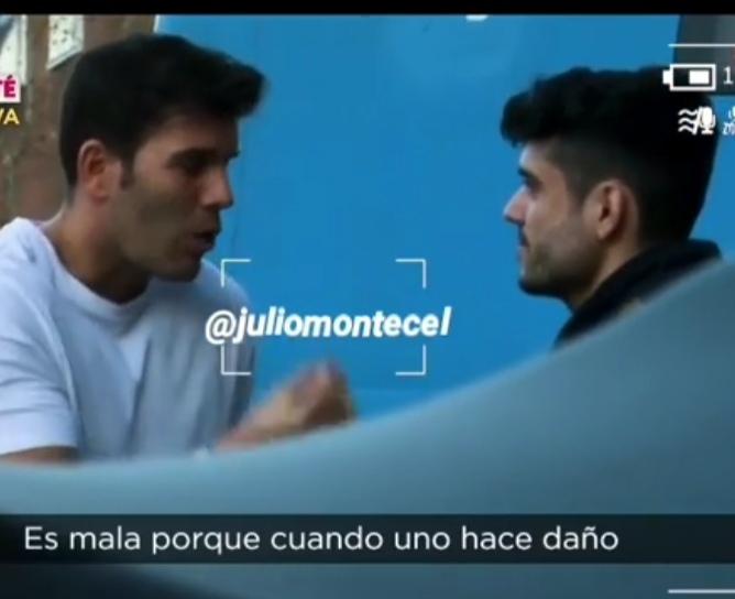 Jose pillado infraganti: «Fani es muy mala»