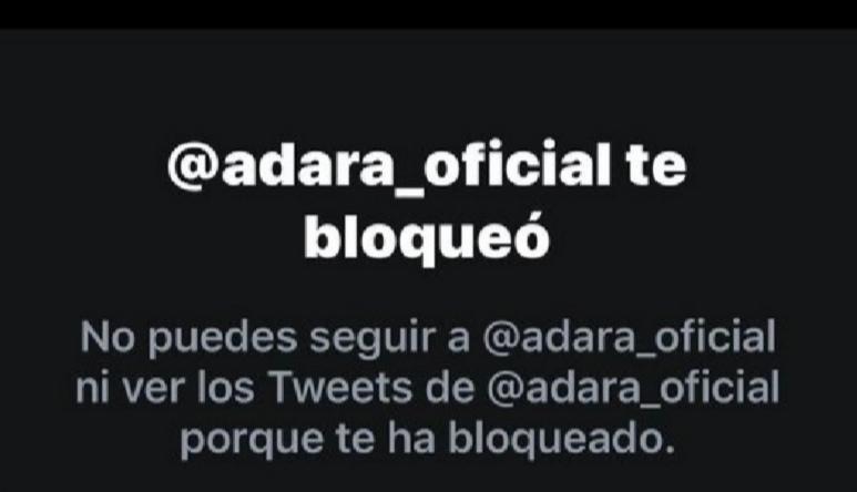 Adara bloquea a su padre por este motivo (y el responde así)