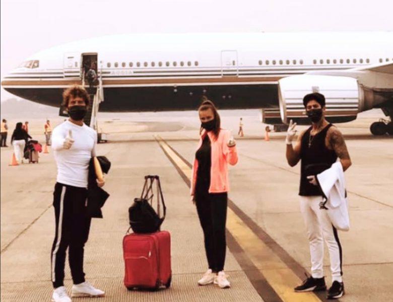 Fani, Ferre y Pavon llegan a España y alucinan con la situacion