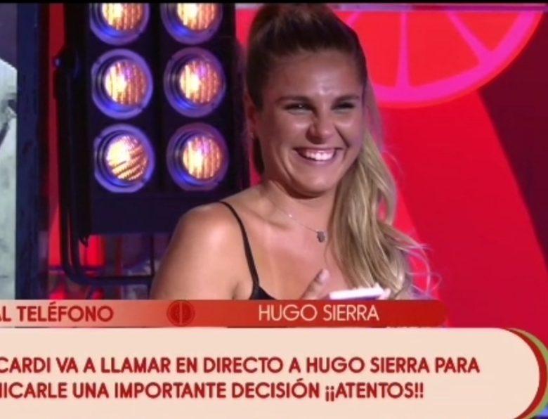 Hugo vuelve en directo con Ivana, mas emocionada que nunca