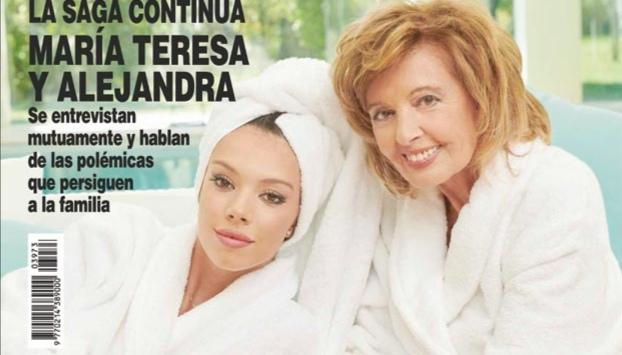 La suculenta cantidad que se han embolsado Maria Teresa y Alejandra Rubio por la portada