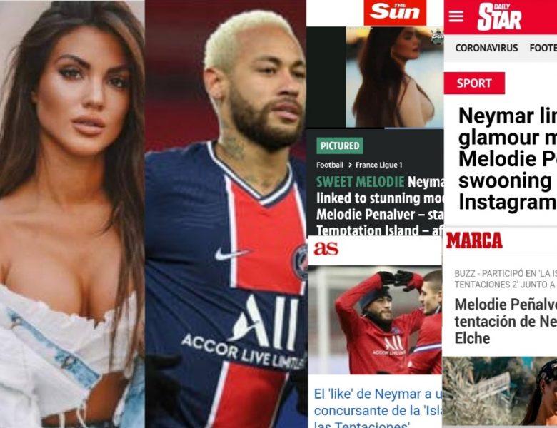 Melodie y Neymar: Los grandes medios se hacen eco del rumor del año