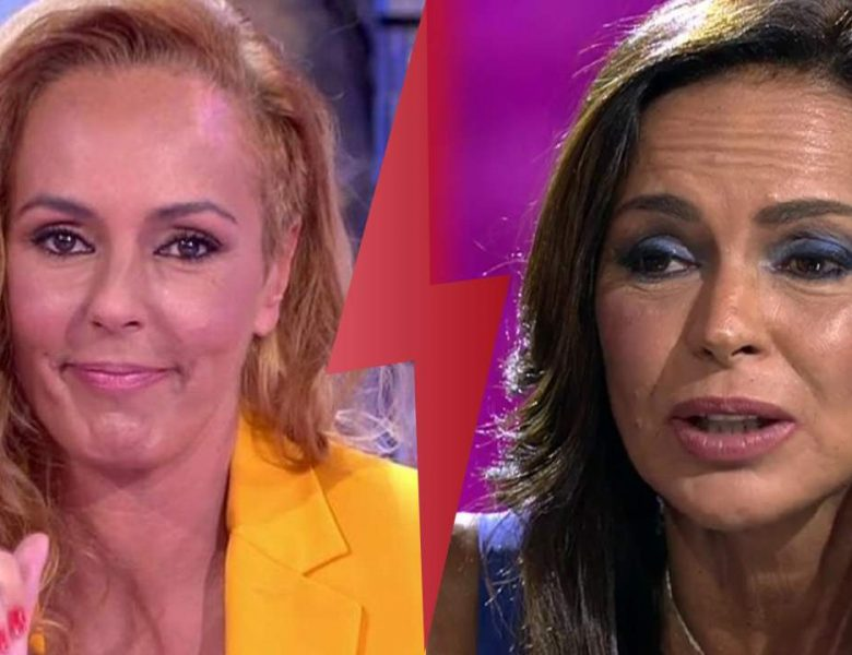 «Tu Pu** madre!» Olga Moreno no recuerda insultar a Rocío Carrasco en este video nunca emitido