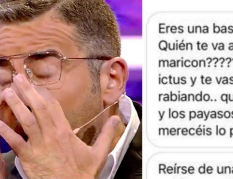 «Te va a dar un ictus»  seguidores de Rocío Flores amenazan a Jorge Javier