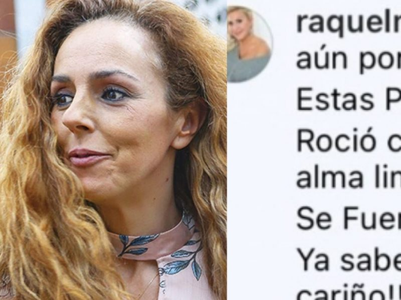 Raquel Mosquera se venga de R. Carrasco dejando este mensaje a Rocío Flores