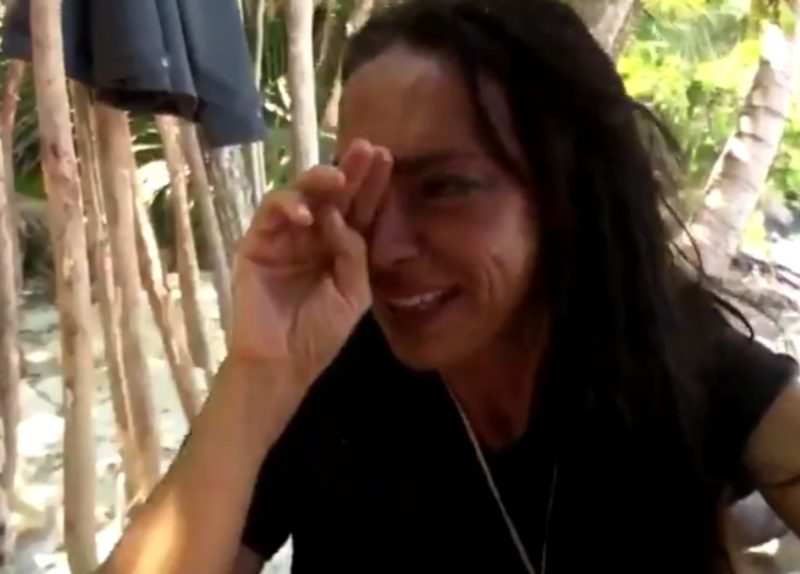 «Me cago en tu pu** madre» El video completo del odio de Olga Moreno a Rocío Carrasco