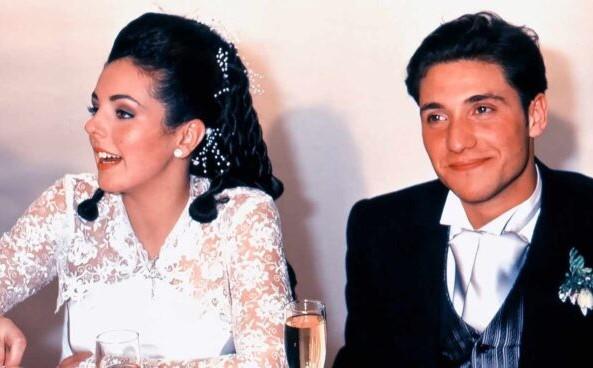 La foto inédita de la boda de Rocío Carrasco que refleja la maldad de Antonio David