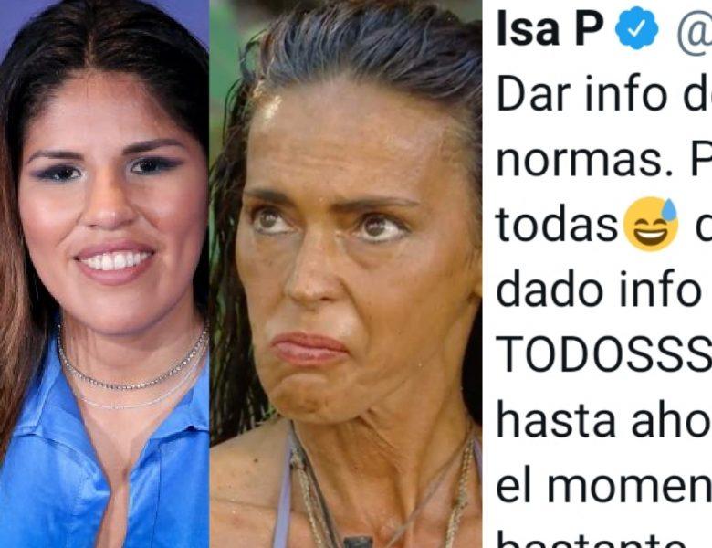 Isa P ataca a la organización de Supervivientes y Olga Moreno