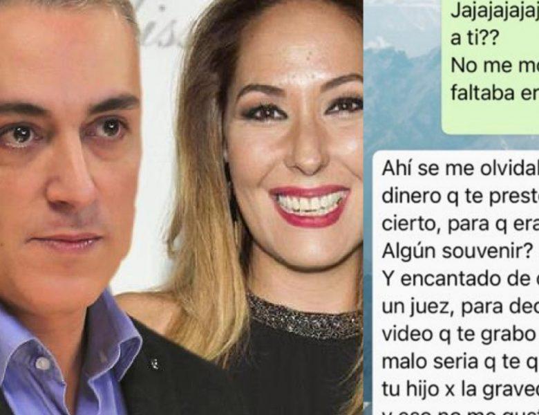 Chayo Mohedano pública mensajes de Kiko Hernández amenazándola con quitarle a su hijo
