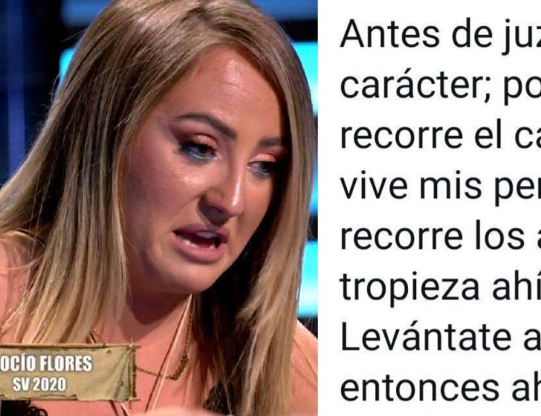 «Busco un novio para Belén Ro» Rocío flores mete la pata y es pillada detrás de un perfil falso