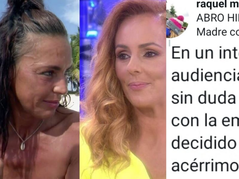 Raquel Moreno entra en furia y desvela el complot de Telécinco contra Olga Moreno