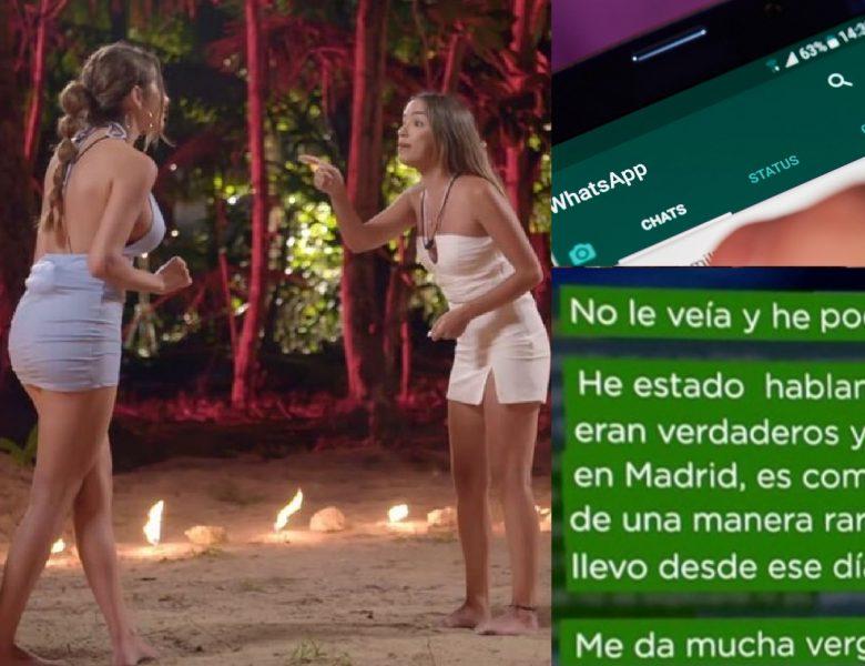 Los perturbados mensajes de Lucia a Marina confesandole su amor por Isaac