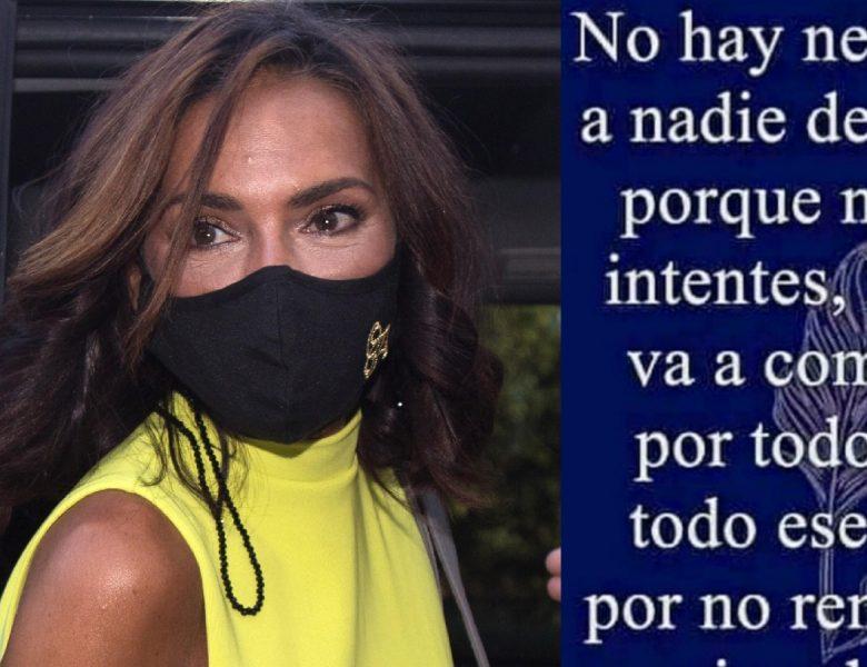 Olga Moreno reaparece lanzando un mensaje que reabre heridas