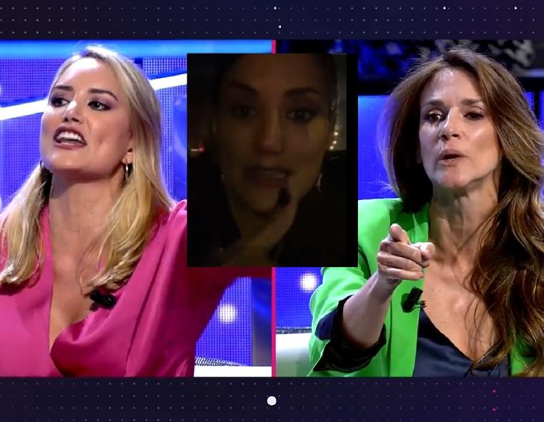 El video de Alba Carrillo  enloquecida contra Elena del que todo el mundo habla